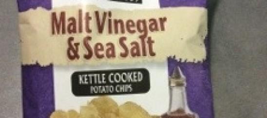Salt & Vinegar Chips Review: Boulder Canyon Malt Vinegar & Sea Salt